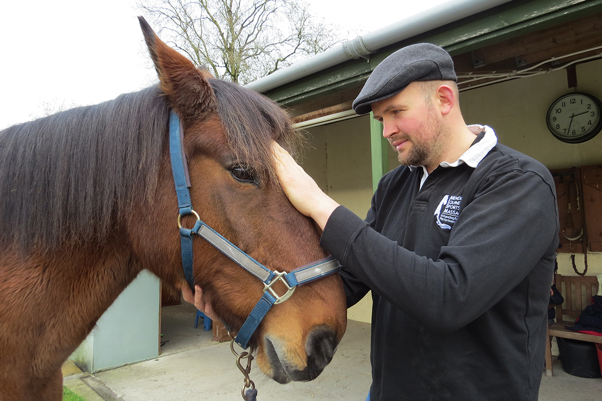 Keith Reynolds, Mendip Equine Sports Massage